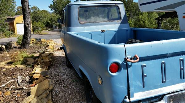 1961 ford econoline pickup truck for sale albuquerque new mexico. Black Bedroom Furniture Sets. Home Design Ideas