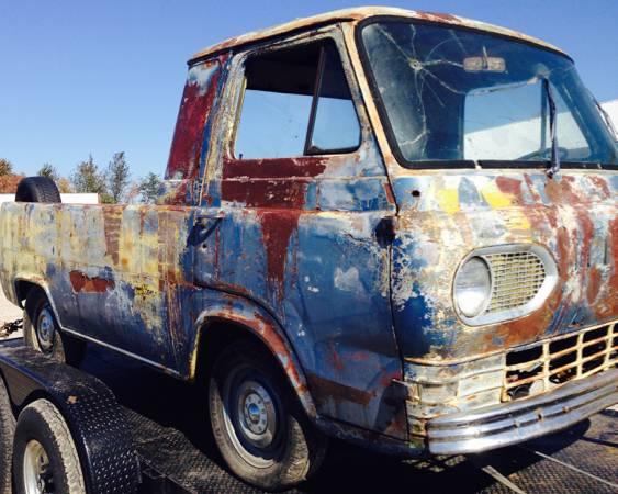1961 Ford Econoline Pickup Truck For Sale Joplin, Missouri