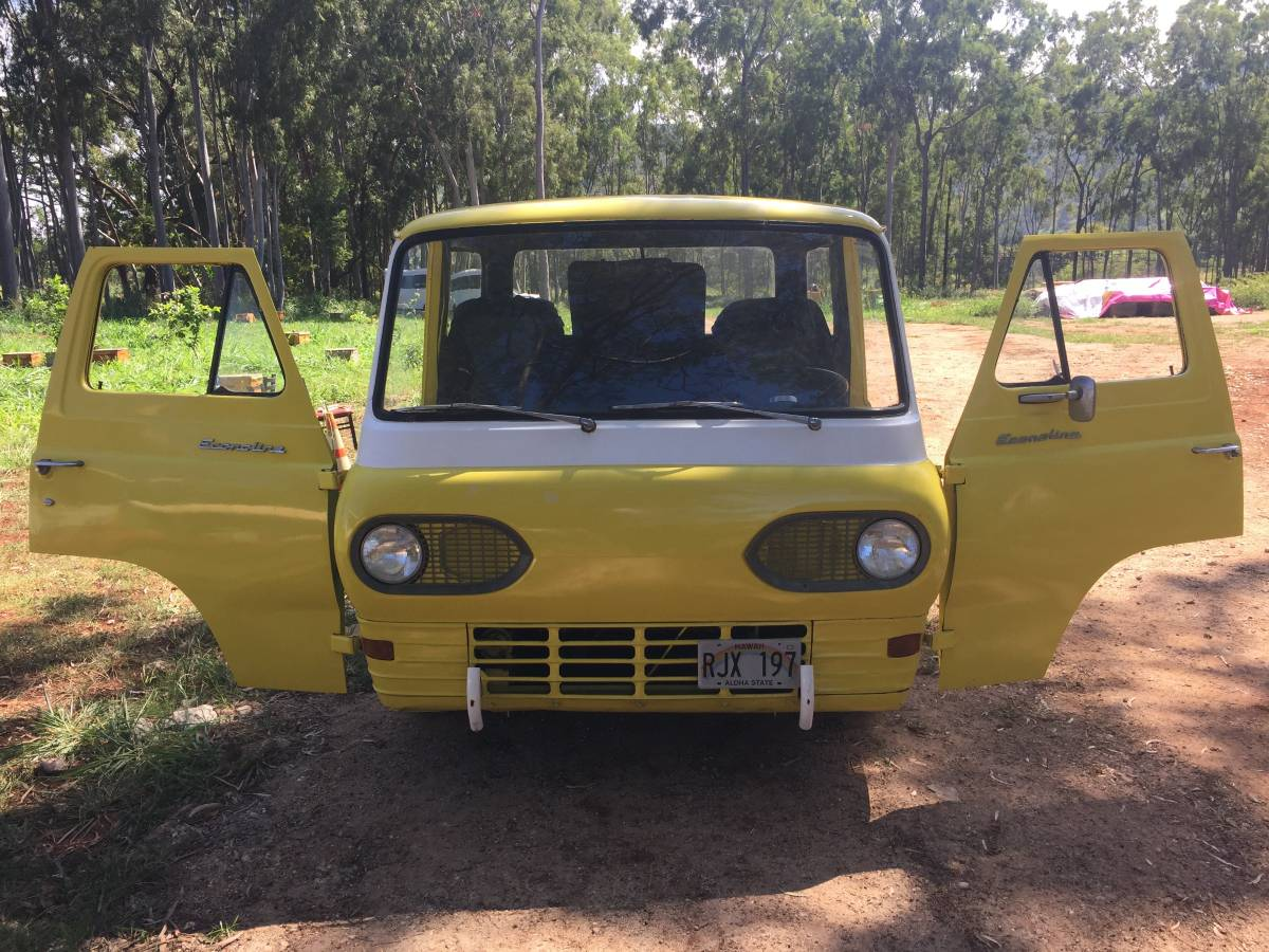 1962 Ford Econoline Pickup Truck For Sale Oahu, Hawaii