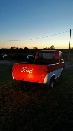 1962 ford econoline pickup truck for sale springfield missouri. Black Bedroom Furniture Sets. Home Design Ideas