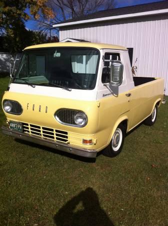 Craigslist Missoula Mt >> 1963 Ford Econoline Pickup 6cyl Auto For Sale in Big ...
