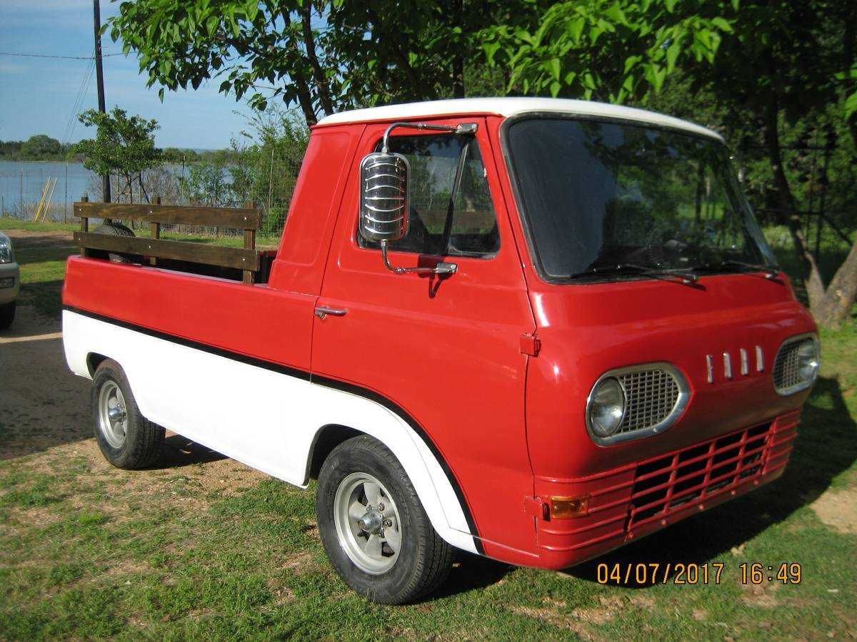 1963 ford econoline pickup truck for sale in buchanan dam texas. Black Bedroom Furniture Sets. Home Design Ideas