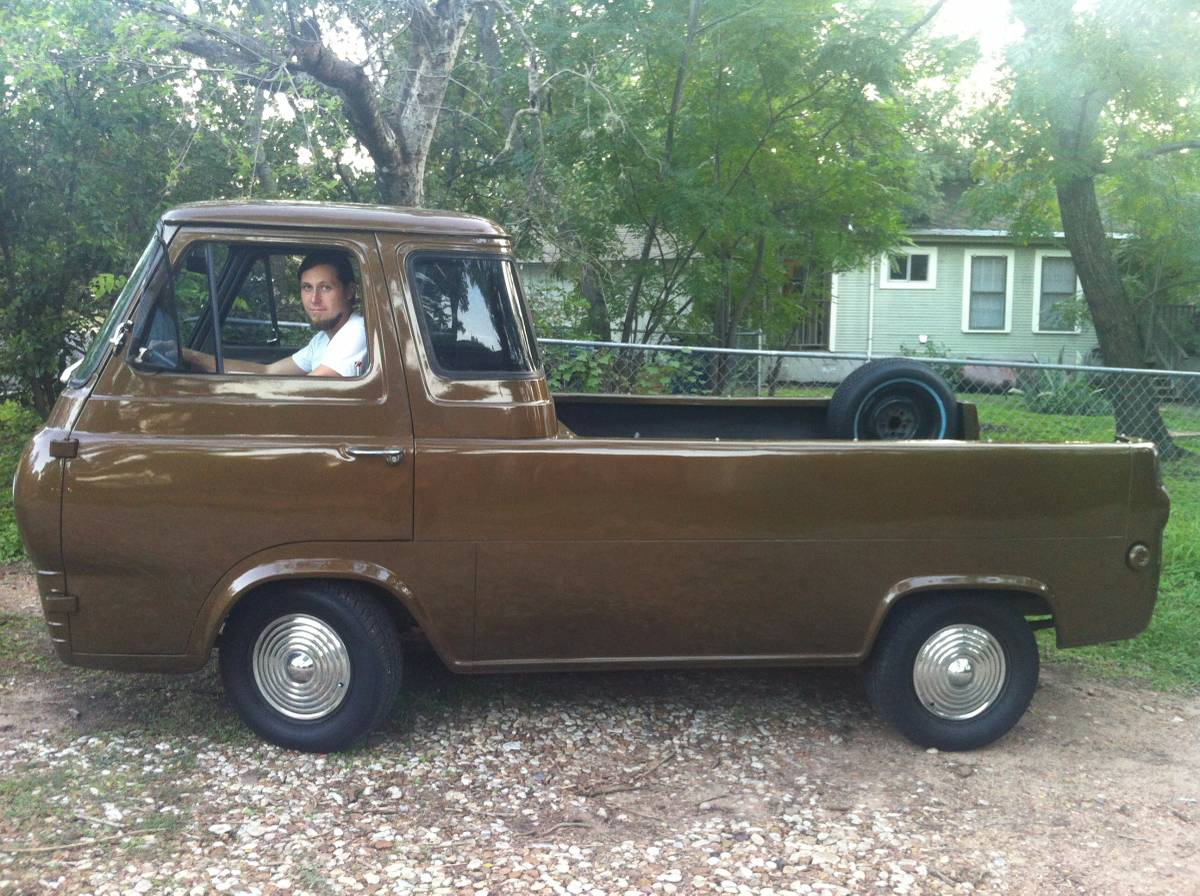 1963 ford econoline pickup truck for sale in forth worth texas. Black Bedroom Furniture Sets. Home Design Ideas