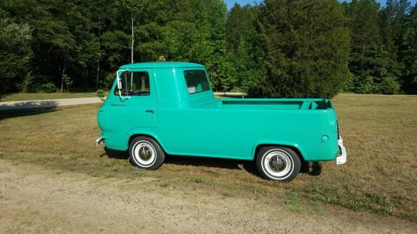 1963 ford econoline pickup truck for sale kannapolis north carolina. Black Bedroom Furniture Sets. Home Design Ideas