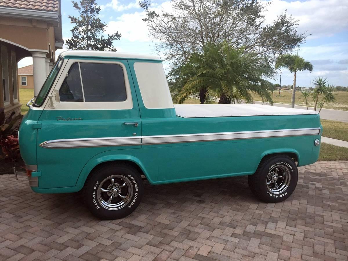 1963 Ford Econoline Pickup Truck For Sale Naples, Florida