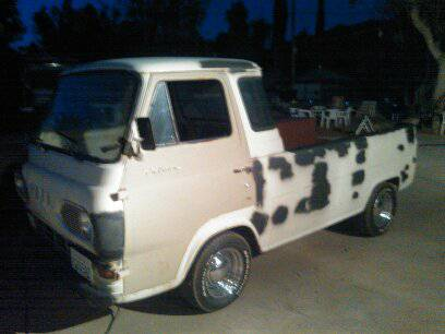 1964 Ford Econoline Pickup Truck For Sale Perris, California