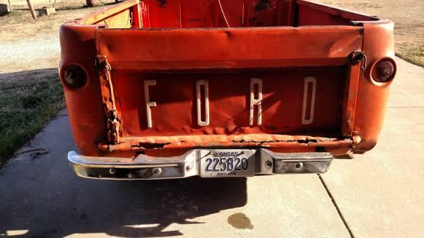 1965 Ford Econoline Pickup Truck For Sale Minneapolis, Kansas