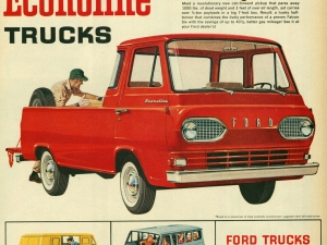 1961 Ford Econoline Advertisement