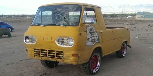 1963 ford econoline pickup truck for sale sw albuquerque new mexico. Black Bedroom Furniture Sets. Home Design Ideas