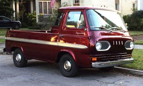 1967 ford econoline pickup truck 5 window for sale lincoln. Black Bedroom Furniture Sets. Home Design Ideas