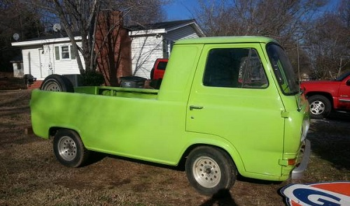 1961 ford econoline pickup truck for sale greenville south carolina. Black Bedroom Furniture Sets. Home Design Ideas
