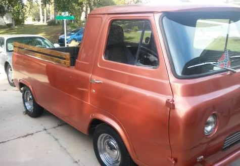 Craigslist Daytona Beach Florida >> 1963 Ford Econoline Pickup Truck Auction in Long Beach ...