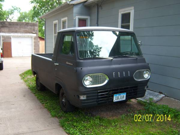 1962 Ford Econoline Pickup Truck For Sale Council Bluffs, Iowa