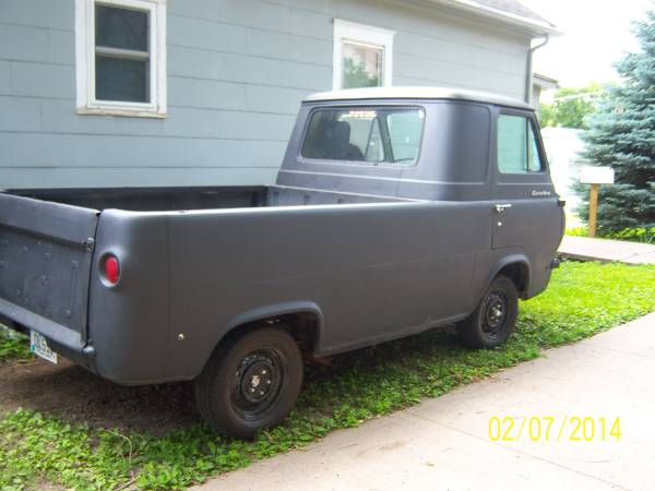 1962 Ford Econoline Pickup Truck For Sale Council Bluffs, Iowa
