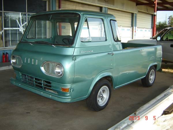 1964 ford econoline service body pickup for sale in perris california. Black Bedroom Furniture Sets. Home Design Ideas