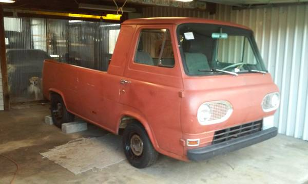 1963 Ford Econoline Pickup Truck Auction in Long Beach ...