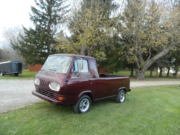 1964 ford econoline pickup w bronco chassis for sale in las vegas nv. Black Bedroom Furniture Sets. Home Design Ideas