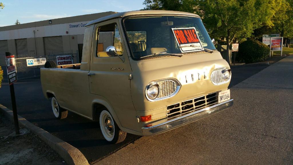 1964 ford econoline pickup truck for sale perris california. Black Bedroom Furniture Sets. Home Design Ideas