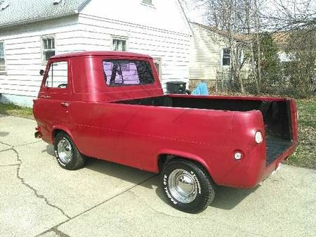 1965 ford econoline pickup truck for sale warren ohio. Black Bedroom Furniture Sets. Home Design Ideas