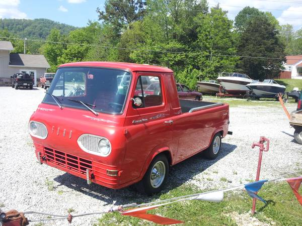 1961 Ford Econoline Truck on Modified Chevy S10 Frame in ...