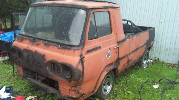 1963 Ford Econoline Pickup Truck For Sale Kannapolis ...