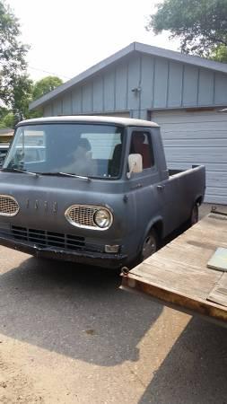 1961 Ford Econoline Pickup Truck For Sale Brainerd, Minnesota