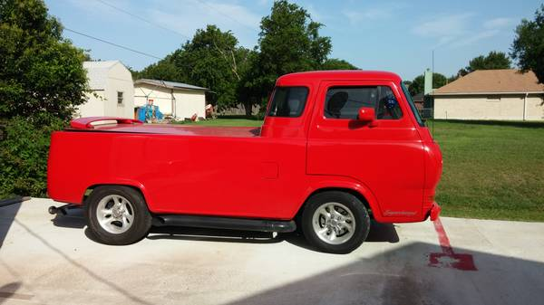 1966 ford econoline pickup truck for sale austin texas. Black Bedroom Furniture Sets. Home Design Ideas