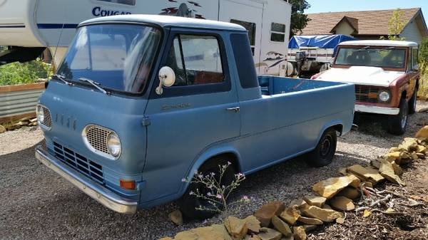 1961 Ford Econoline Pickup Truck For Sale Chattanooga ...