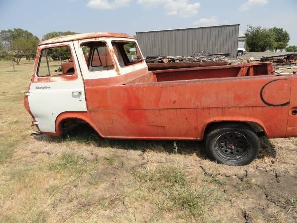 1961, 1964 Ford Econoline Pickup Truck For Sale Sanger, Texas