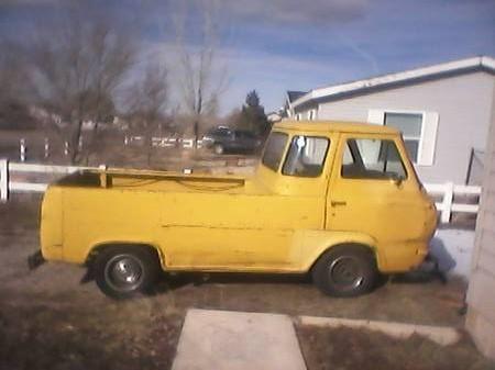 1962 Ford Econoline Pickup Truck For Sale Cedar City, Utah
