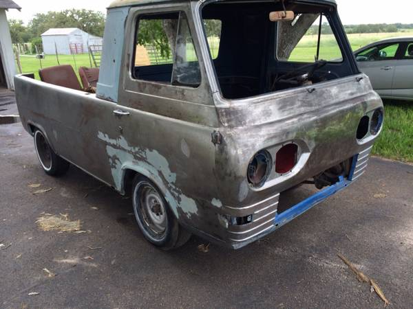 1964 ford econoline pickup truck for sale corpus christi texas. Black Bedroom Furniture Sets. Home Design Ideas