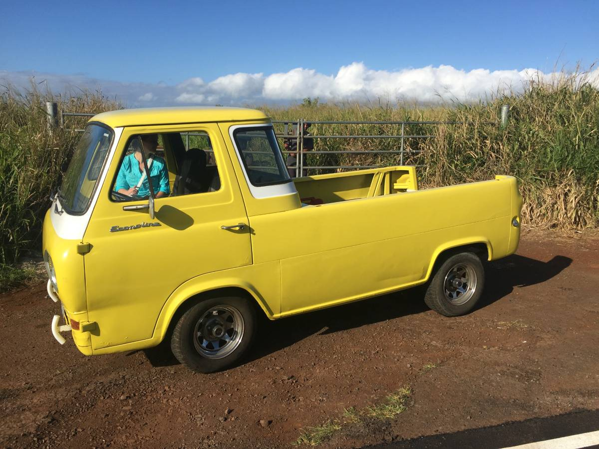 1961 ford econoline pickup truck for sale shelton washington. Black Bedroom Furniture Sets. Home Design Ideas