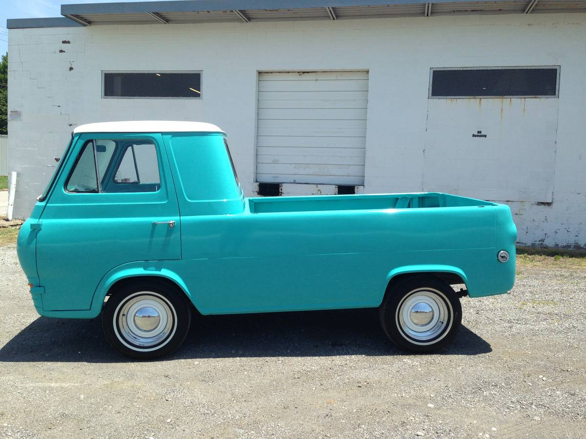 1962 Ford Econoline 5 Window Pickup Truck For Sale Lake ...