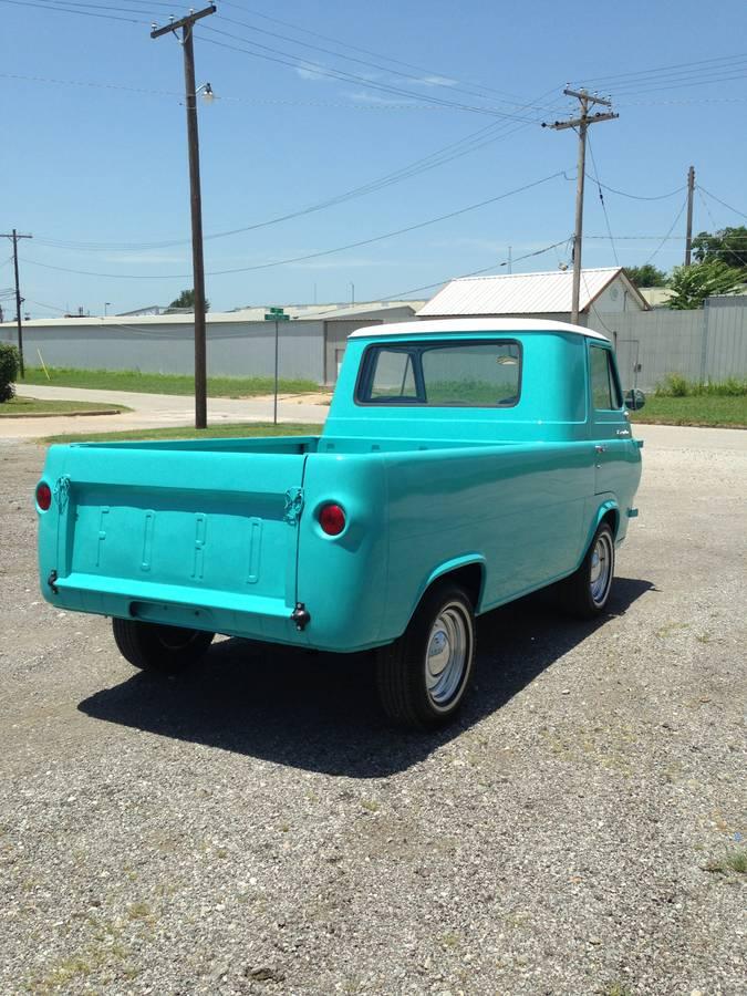 1962 Ford Econoline Pickup Truck For Sale Tulsa, Oklahoma