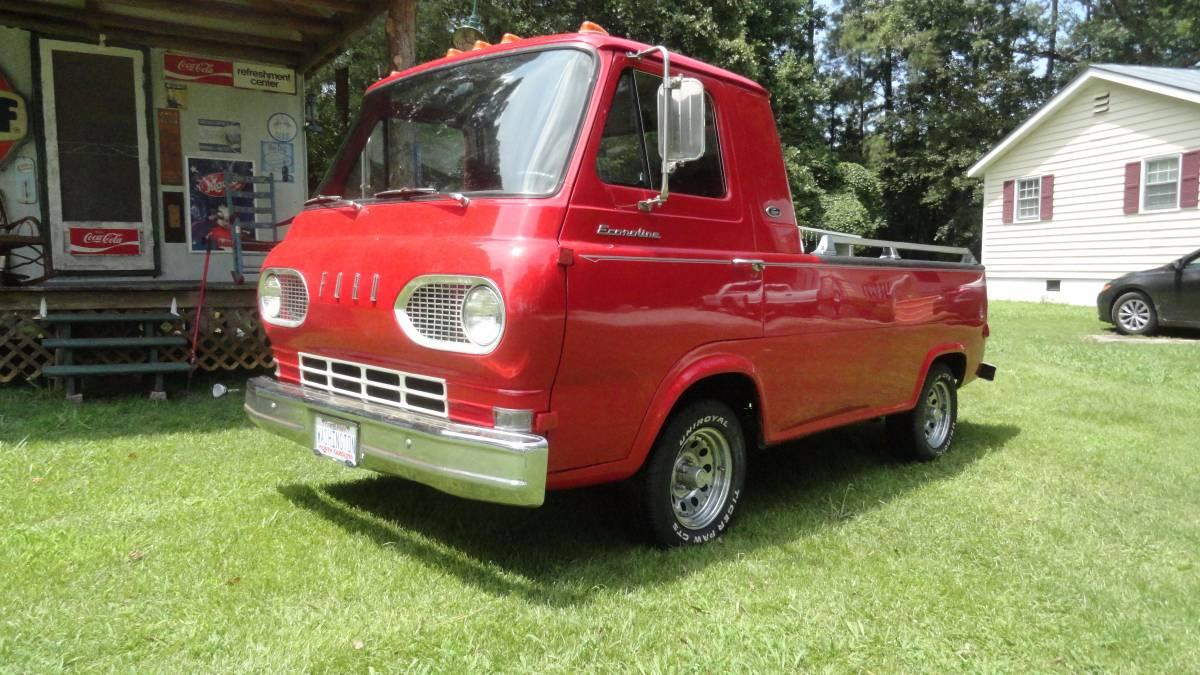 1962 ford econoline pickup truck for sale glencoe alabama. Black Bedroom Furniture Sets. Home Design Ideas