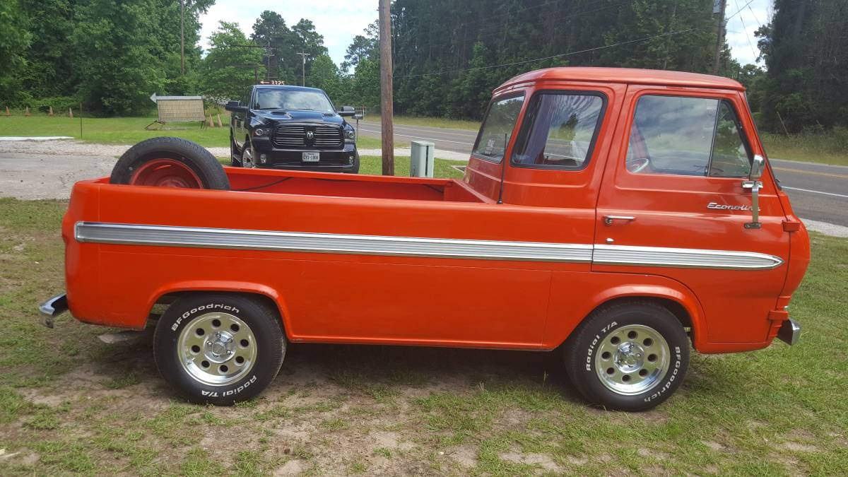 1965 ford econoline pickup truck for sale in van nuys california. Black Bedroom Furniture Sets. Home Design Ideas