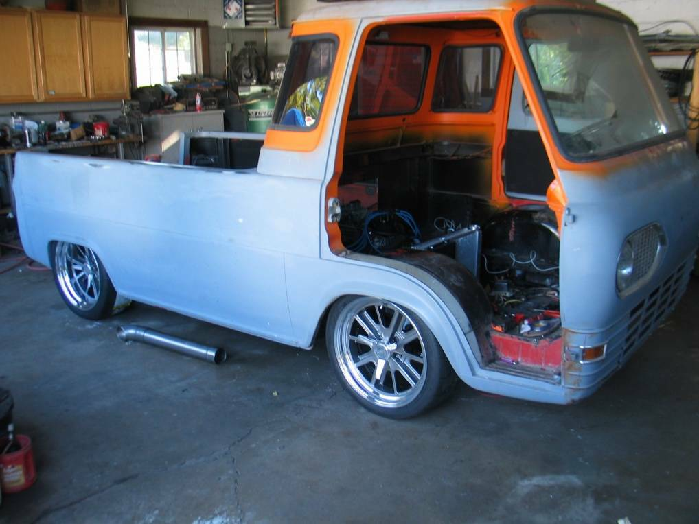 1961 Ford Econoline Pickup Project Truck For Sale in ...