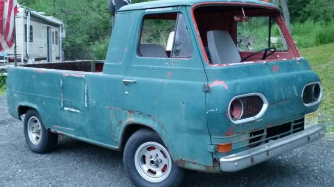 1961 Ford Econoline Pickup W 302 Mustang V8 Auto For Sale