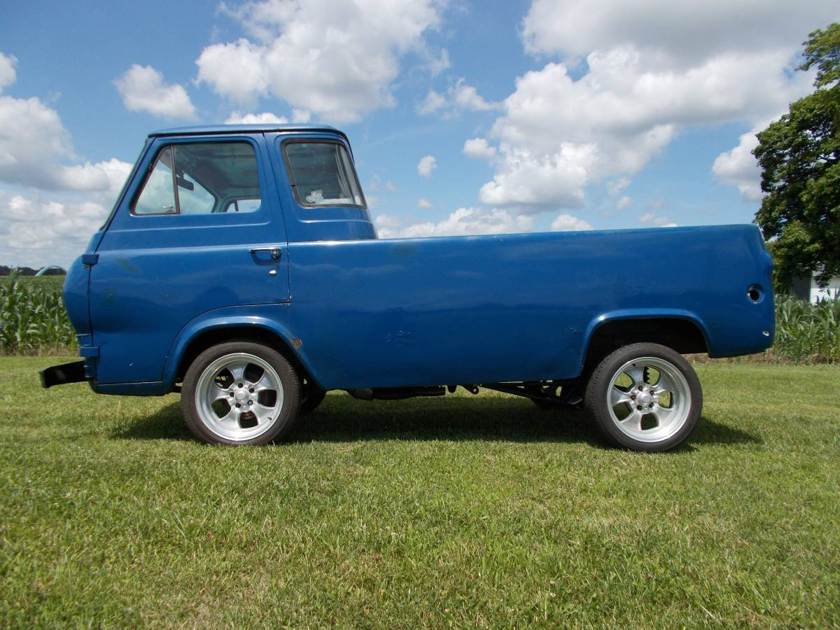 1961 ford econoline pickup truck for sale in new paris ohio 3 500. Black Bedroom Furniture Sets. Home Design Ideas