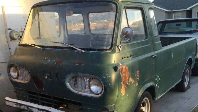1961 Ford Econoline 5-Window Pickup For Sale or Trade in ...