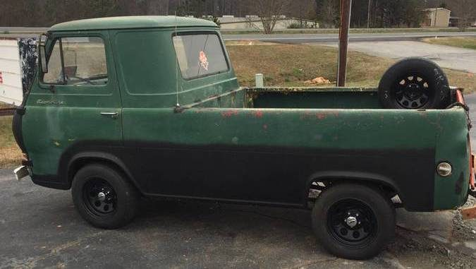 ford econoline pickup truck 1961 1967 for sale in south carolina. Black Bedroom Furniture Sets. Home Design Ideas