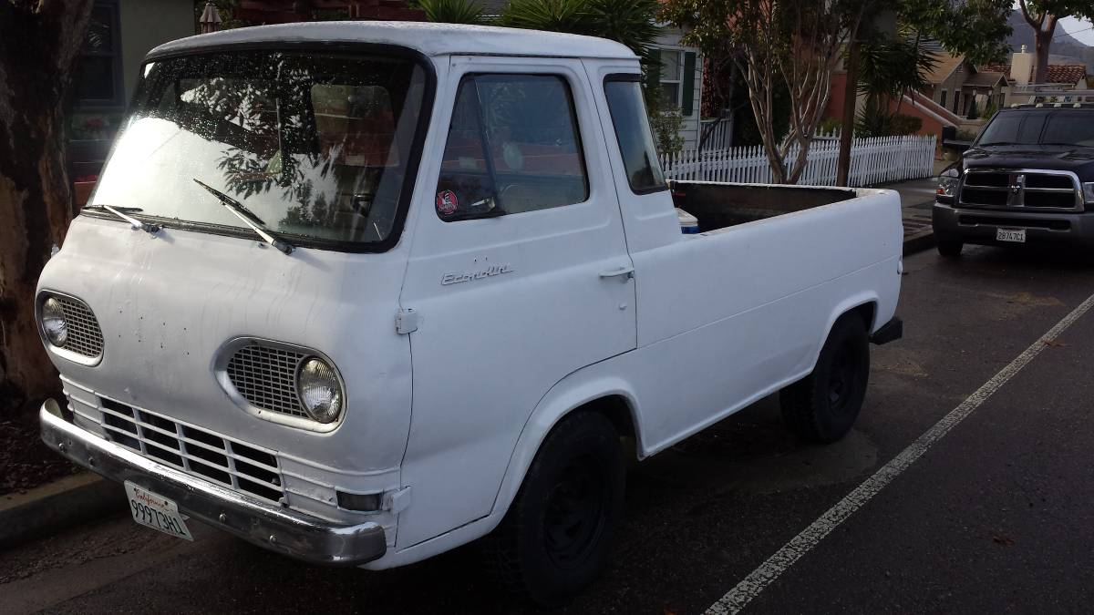1961 Ford Econoline 5 Window Pickup For Sale In San Luis