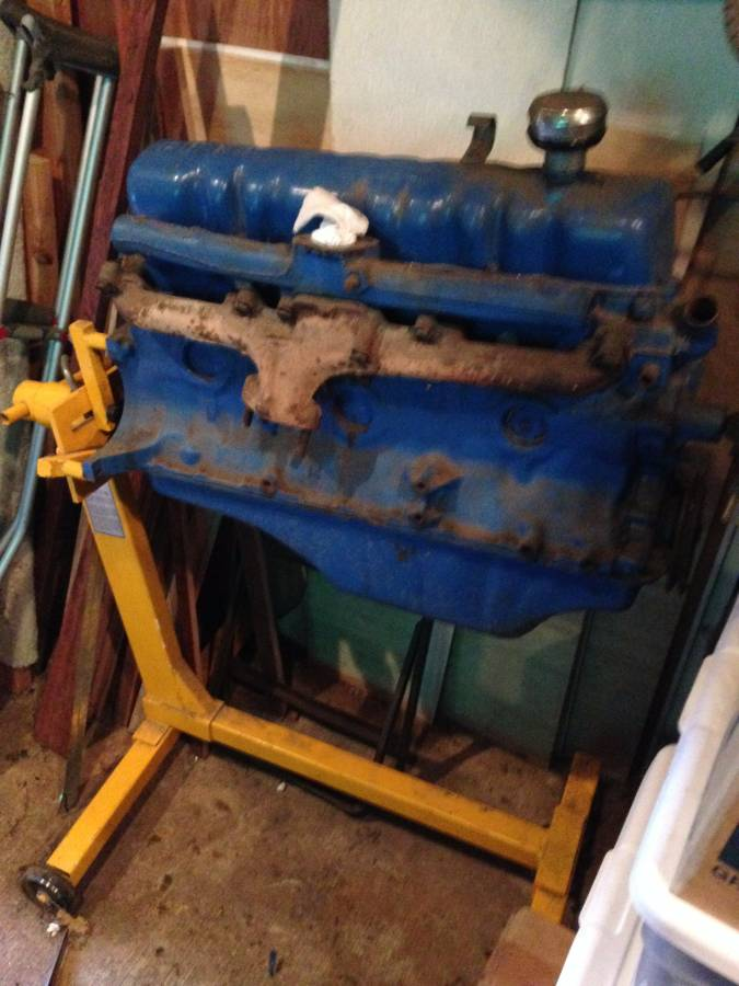 6 Cylinder 170 Ford Econoline Motor W   Engine Stand In