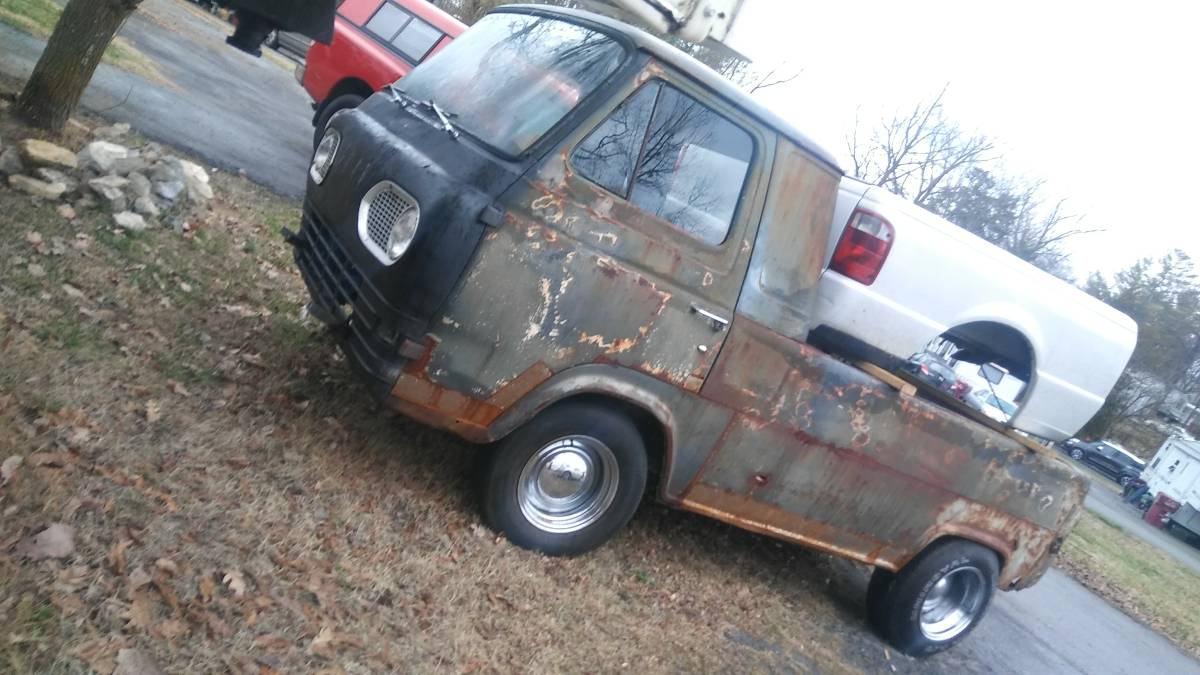 1963 Ford Econoline Pickup Project For Sale in Johnson ...