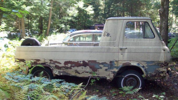 1964 ford econoline pickup truck for sale in canaan new hampshire. Black Bedroom Furniture Sets. Home Design Ideas