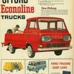 1961 Ford Econoline Advertisement