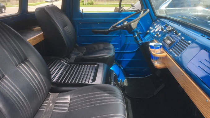 Ford Econoline Pickup Custom Interior Modifications