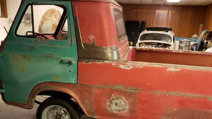 1963 Ford Econoline Three Window Project For Sale or Trade ...