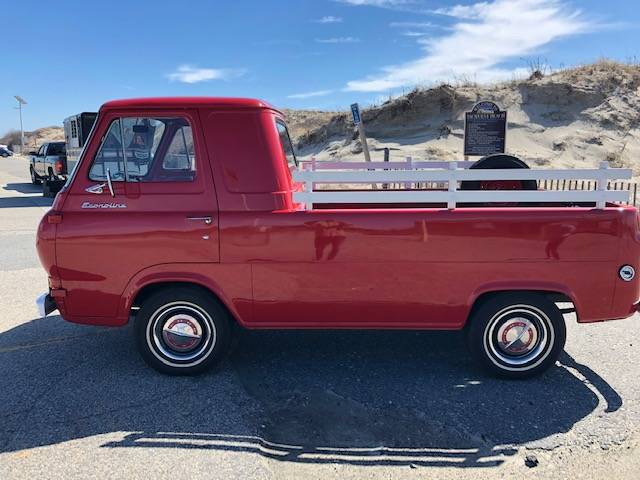 1965 Ford Econoline Red 3spd Pickup Truck For Sale In Newport Ri