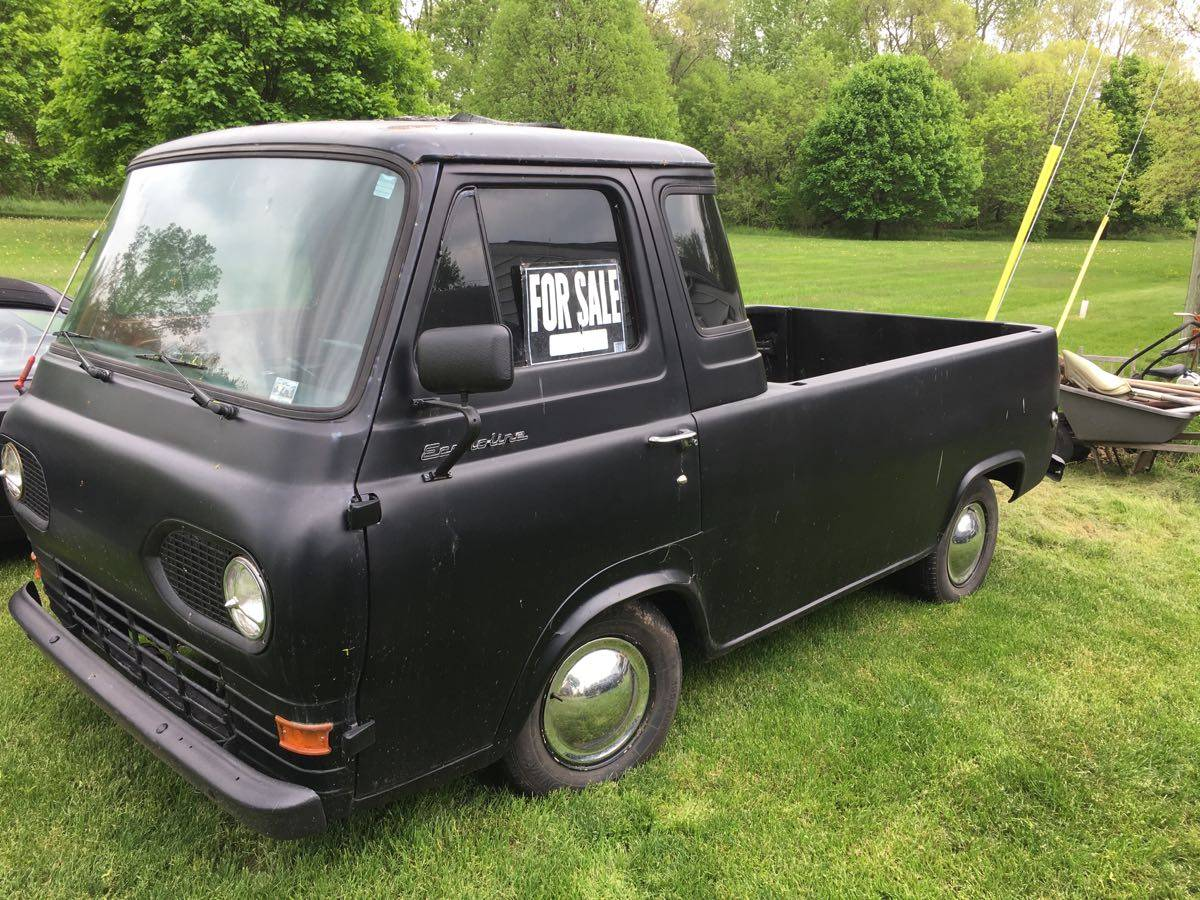 1964 Ford Econoline Black Automatic Pickup Truck For Sale